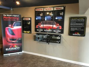 Window tint display