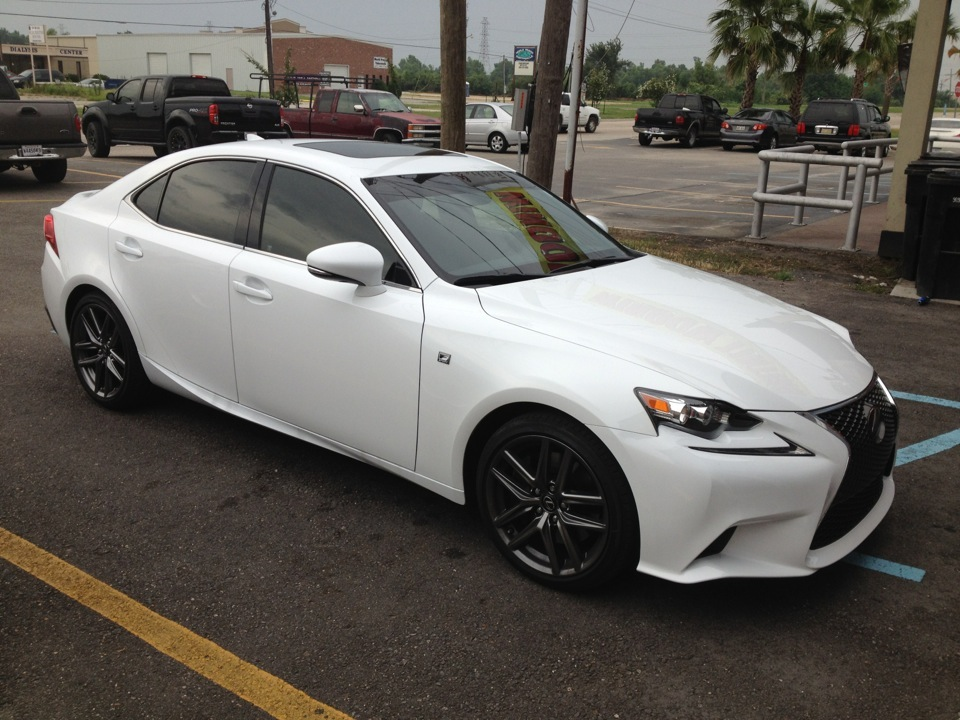 Lexus window tint